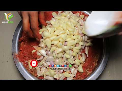 How To Make Mango Pickle   Mango Pickle Recipe By The Online India