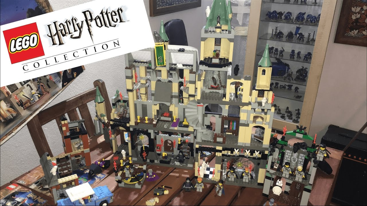 Massive lego harry potter 39 s hogwarts castle complete 4709 for Sejour complet harry potter