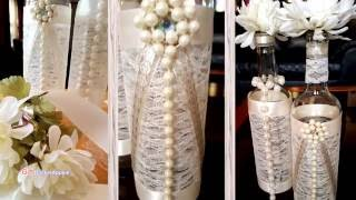 It's amazing what adding ribbon, pearls and lace can do to transfor...