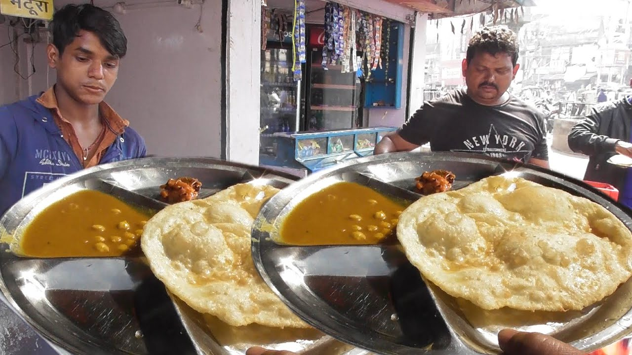 Best Place to Eat Chole Bhature in Ranchi - Price @ 30 rs Plate - Bombay Fast Food