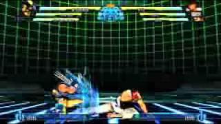 Marvel vs. Capcom 3 Tutorials: Advancing Guard