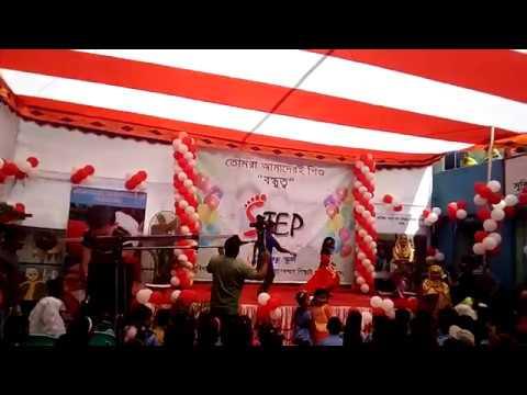 dhakai saree dance performance