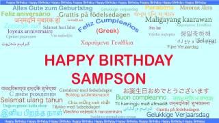 Sampson   Languages Idiomas - Happy Birthday
