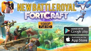 FortCraft Gameplay Android / iOS - Brand New Battle Royale Game by NetEase