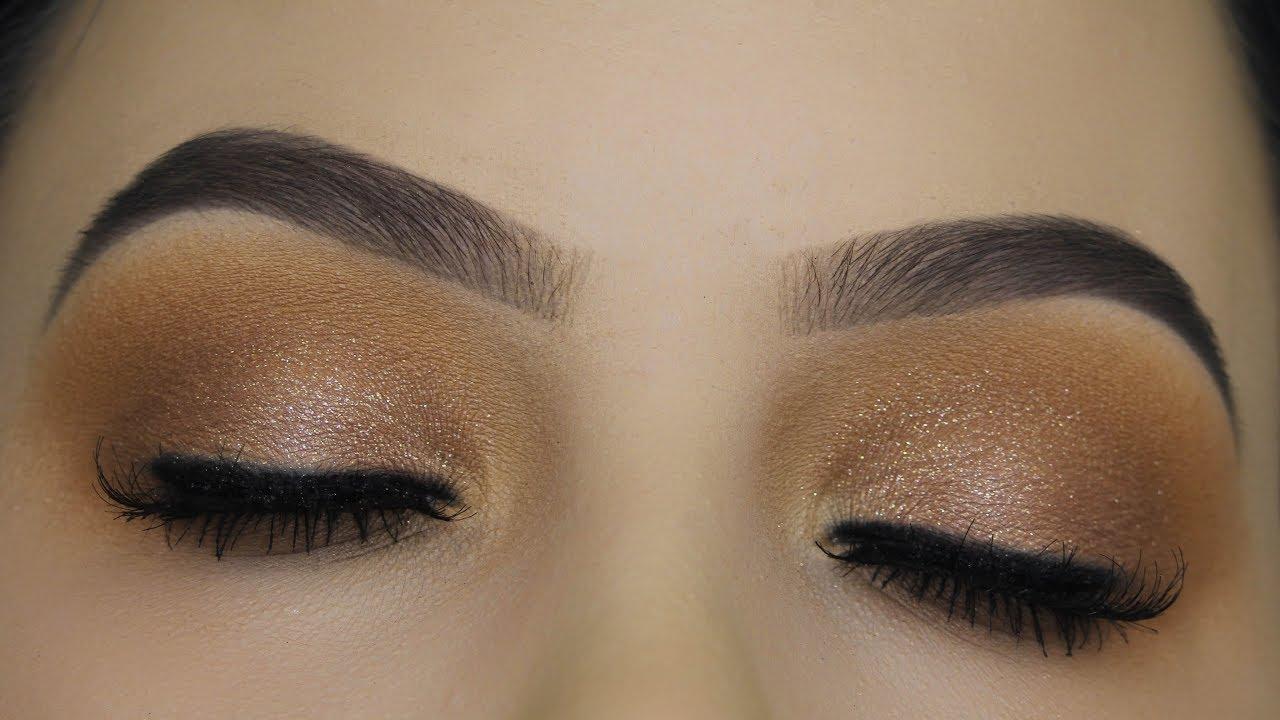 Soft Brown Sparkle Eye Makeup Tutorial Youtube With Images Eye Makeup Tutorial Sparkle Eye Makeup Makeup Tutorial