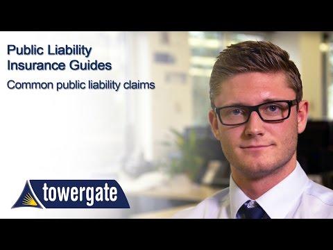 Common Public Liability Claims | Towergate