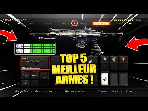 TOP 5 ARMES LES *PLUS PUISSANTES* SUR BLACK OPS 4! COD BO4 TOP 10!