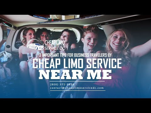 3 Important Tips for Business Travelers BY Cheap Limo Service Near Me