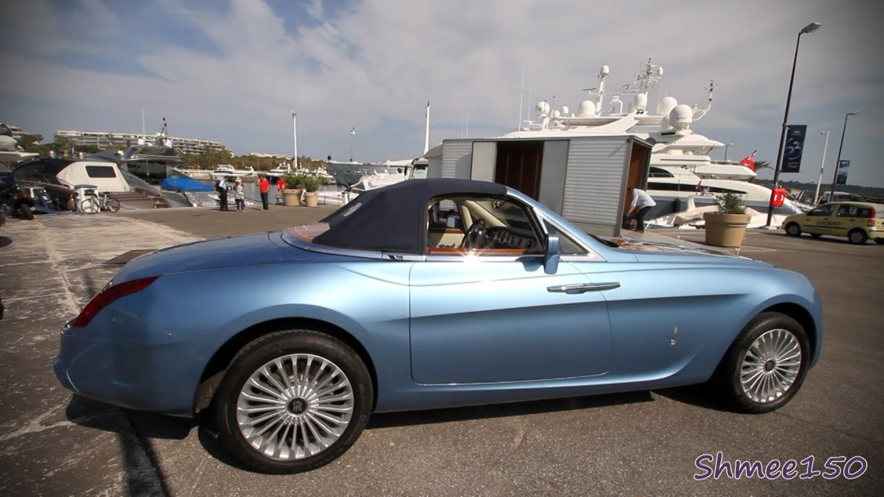 Rolls Royce Starting Price >> €5m+ Rolls Royce Hyperion - Roof Action, Car is now For Sale! - YouTube