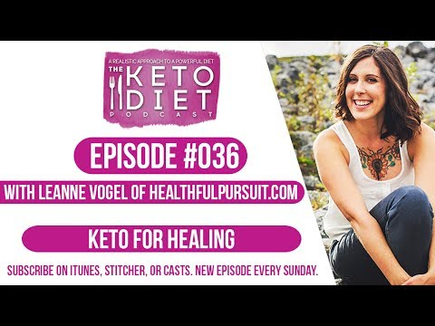 #036 The Keto Diet Podcast: Keto for Healing
