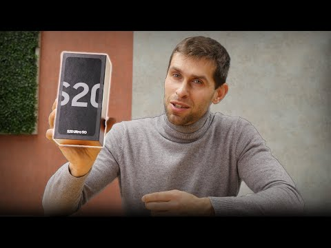 Samsung Galaxy S20 Ultra Unboxing and Camera Test