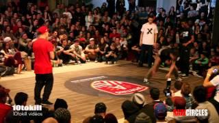 Raw Circles 2013 - 8Final - Kolobok & Gimnast (UKR) Vs Niggaz & Abdel (FRA)
