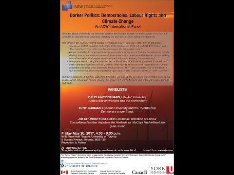 Darker Politics: Democracies, Labour Rights and Climate Change