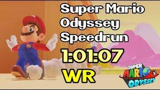 Super Mario Odyssey Any Speedrun In 10107 Former World Record   September 26th  2018