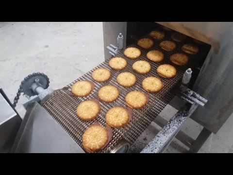 Biscuit production line video/Small scale bisucit factory