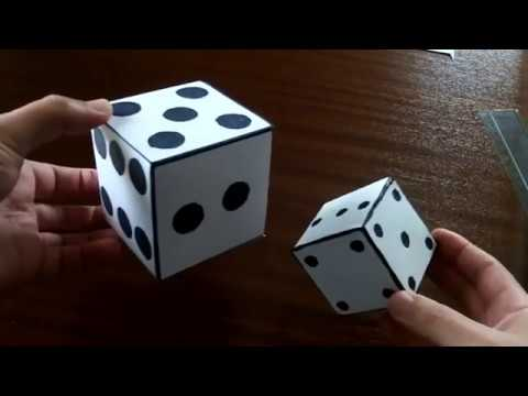 How to Make a Paper Dice