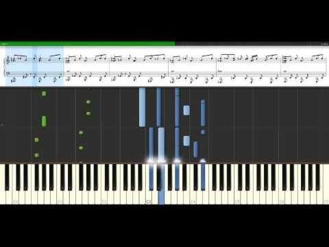 Bob Sinclar - World hold on [Piano Tutorial] Synthesia