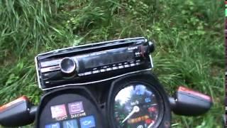Иж планета  Музон  Мотоцикл с музыкой  советский мотоцикл тюнинг  480p