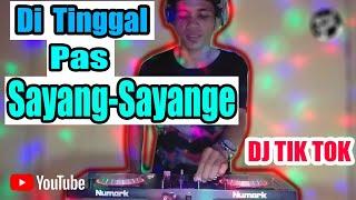 Download Lagu Dj Ditinggal Pas Sayang Sayange Full Remix Tiktok 2020 MP3