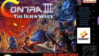Contra 3 Alien Wars Snes
