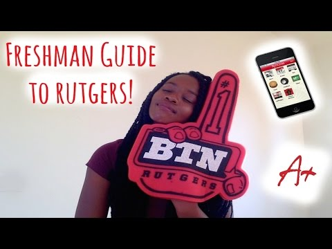 Freshman Guide to Rutgers!