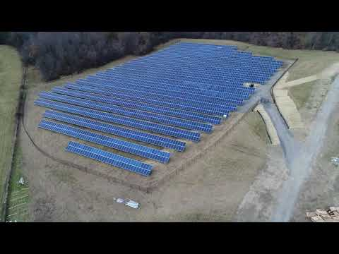 Hudson High School Solar Panels