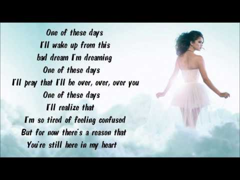 Selena Gomez & The Scene - Ghost Of You Karaoke / Instrumental with lyrics on screen