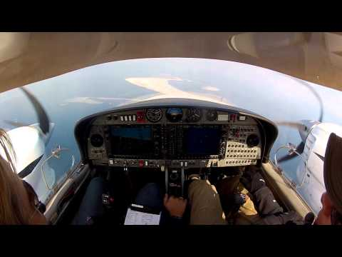 Multi-Engine Rating in 12 Days - Day 5 Part 1 - Full Video with Cockpit and ATC