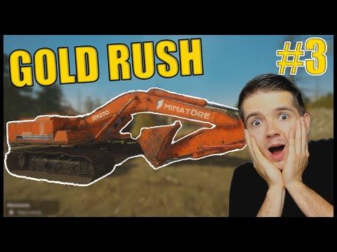 MŮJ PRVNÍ BAGR! - Gold Rush: The Game #3