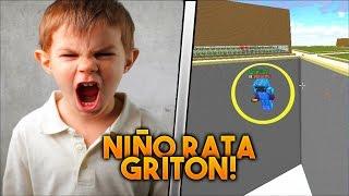 TROLLEANDO a NIÑO RATA GRITON en Minecraft !