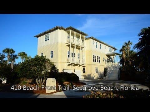 Seagrove Beach Florida 8br Gulf View Vacation Rental Home Beach Front Trail