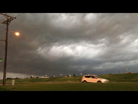 Massive Storm Cell Hits The Dallas Fort Worth Area in Texas | 5-13-2016