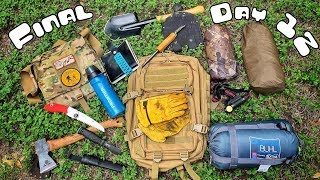 FINAL DAY! 12 Day Budget Survival Camping Challenge - Day 12