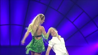 Vita & Frederic took the stage in fire  - So You Think You Can Dance