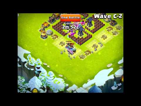 Castle Clash Here Be Monsters Wave C With No Garrisons