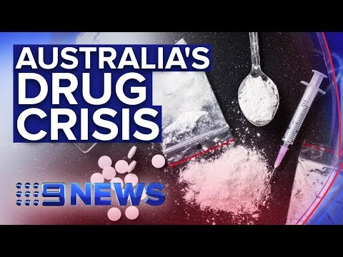 Scale Of Meth, Cocaine And Heroin Use Revealed In Shocking Research   Nine News Australia