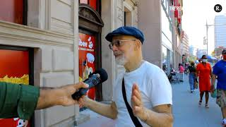 """New Yorkers React to """"Do You Believe in God?"""" (The God Summit)"""