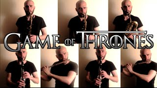 Game of Thrones Theme - Woodwinds Only
