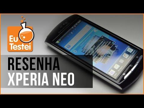 Xperia Neo MT15a Sony Ericsson Smartphone - Vídeo Resenha EuTestei Brasil
