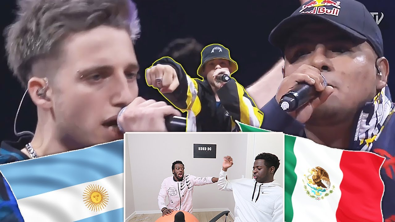 ACZINO vs WOS vs TRUENO! ARGENTINA vs  MEXICO BRUTAL FINAL RED BULL 1