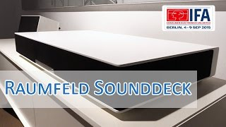 IFA 2015: Raumfeld Sounddeck Vorstellung & Hands on