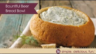 Bountiful Beer Bread Bowl Recipe