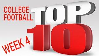 College Football Top 10 2017 Week 4