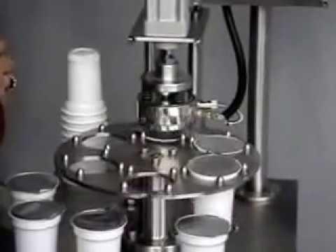 Www Asilmak Com Cup Sealing Machine Semi Autumatic Manual