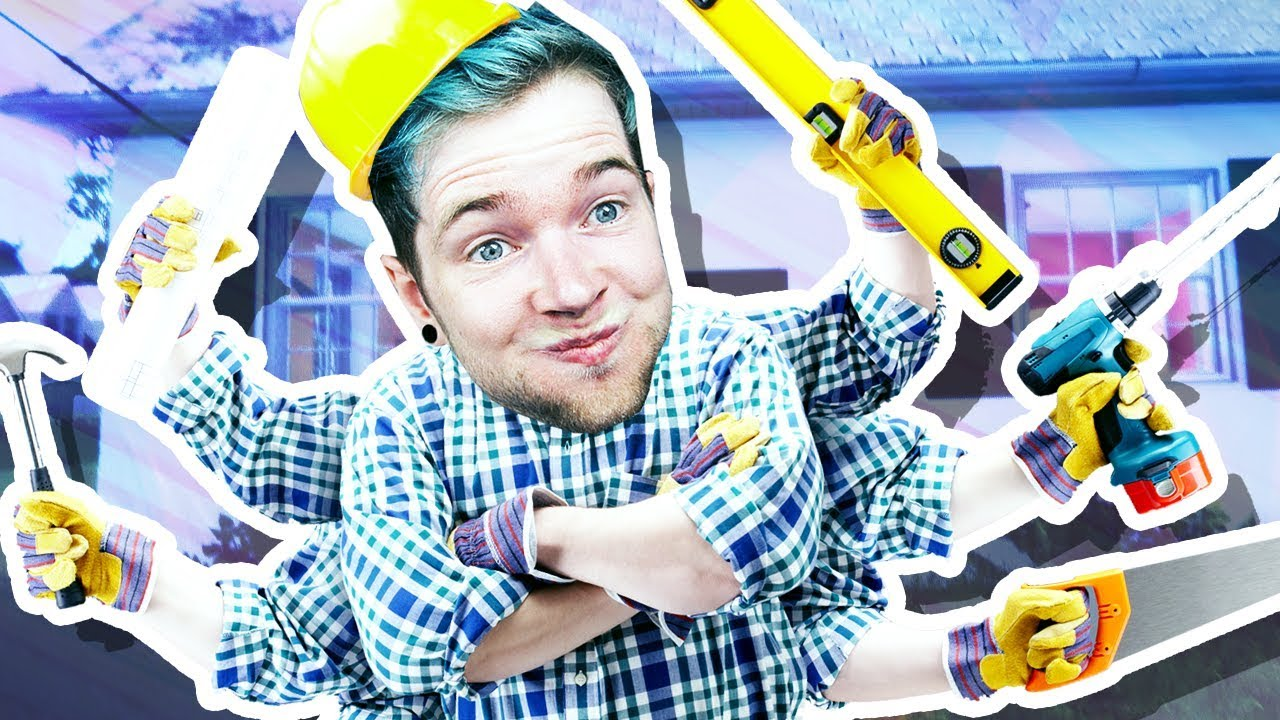 DANTDM THE HANDYMAN!!! (House Flipper)