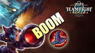 Tristana Deathcap?! Shapeshifter DESTRUCTION - Teamfight Tactics TFT Tristana