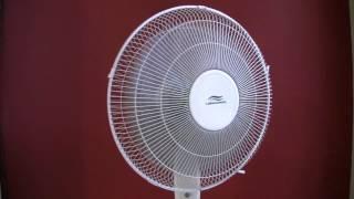 Oscillating Fan - 3 Hours of White Noise