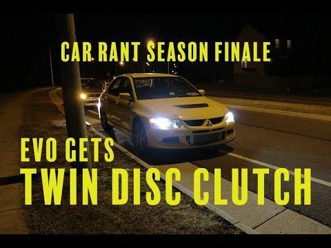 EVO gets a Twin Disc Clutch - Car Rant Season Five Finale