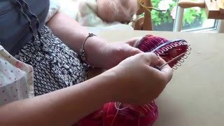 How to Knit on a Prym Sock Knitting Loom