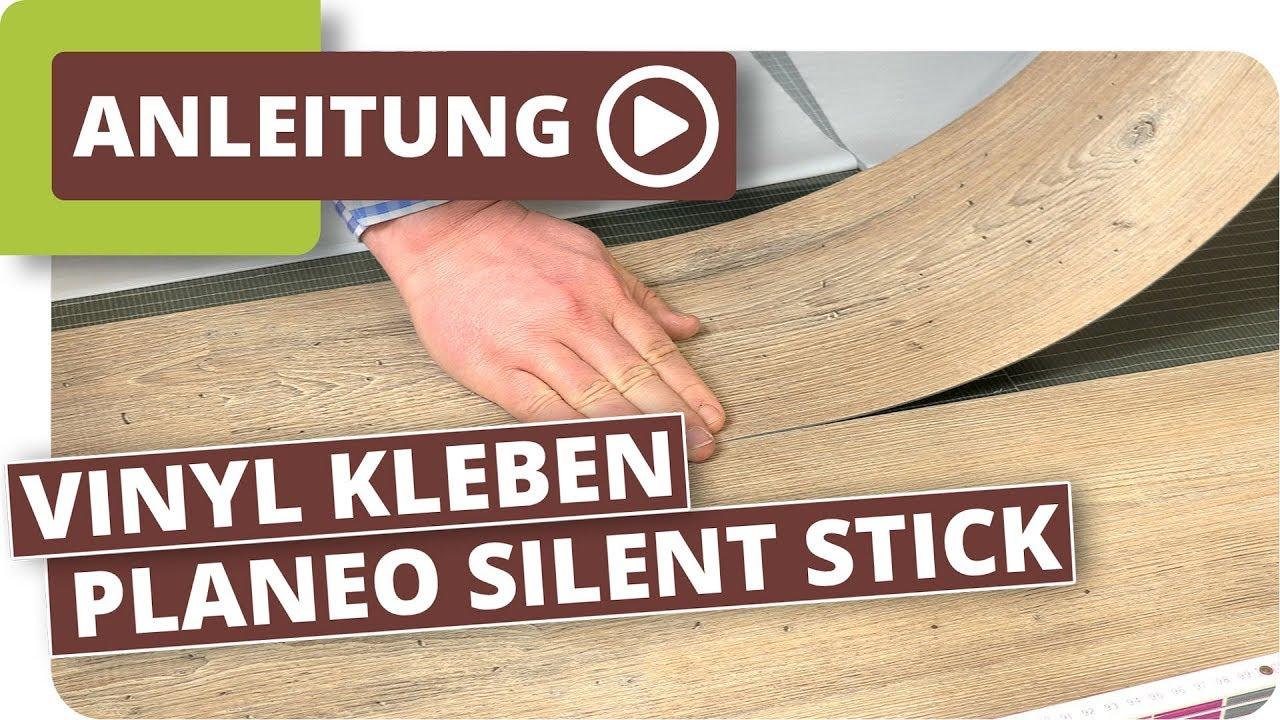 Ordentlich Vinylboden kleben - planeo silent stick die Alternative zum Kleber  IC13